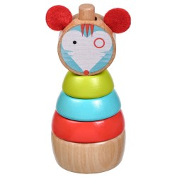 Wooden Stacking Toy -...