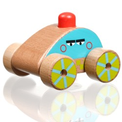 Wooden Car-squeaker, Lucy&Leo
