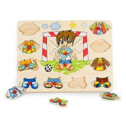 PINO Dress Up Peg Puzzle Boy – Seasons