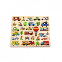 PINO Peg puzzle Traffic – big