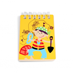 PINO Pirates mini notebook