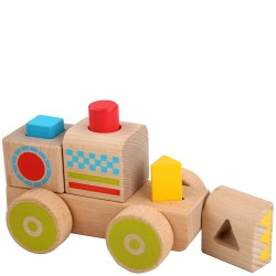 Wooden Smart Truck Shape...
