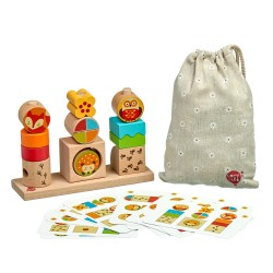 Wooden Toy Set - Day&Night, Lucy&Leo