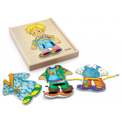 PINO Lacing Puzzle Boy