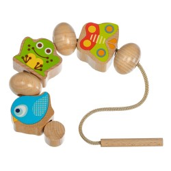 Wooden Lacing Toy, Lucy&Leo