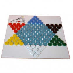 Chinese checkers and Halma...