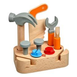 """Дървен комплект инструменти """"Малък майстор"""", Lucy&Leo"""