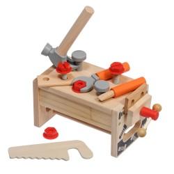 """Дървено сандъче с инструменти """"Малък майстор"""", Lucy&Leo"""