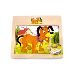 PINO Puppy Puzzle (12...