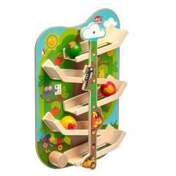 Дървена интерактивна играчка за стена - В гората, Lucy&Leo