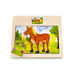 PINO Horse Puzzle (12...