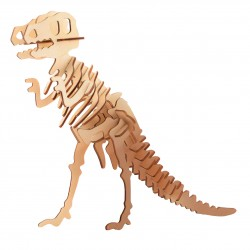 """Дървен 3D пъзел """"Динозаври"""" - Тиранозавър Рекс"""