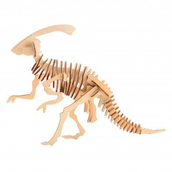 Wooden 3D Dinosaur puzzle - Parasaurolophos