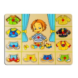 PINO Dress up puzzle Boy