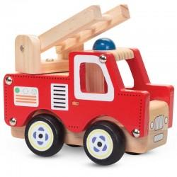 Дървено камионче - Пожарна