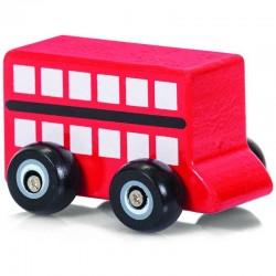 Wooden Wheels Toy Car - British vehicle design