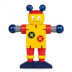 Дървен гъвкав робот