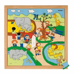 Zoo - Wooden puzzle Educo