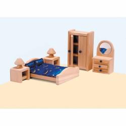 Мебели за къща за кукли Educo - Главна спалня