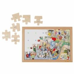 Wooden Math Puzzle Educo - addition