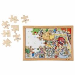 Wooden Math Puzzle Educo - Addition and Subtraction up to...