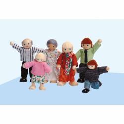 Аксесоари за къща за кукли Educo - Семейство