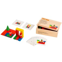 Wooden educational game,...