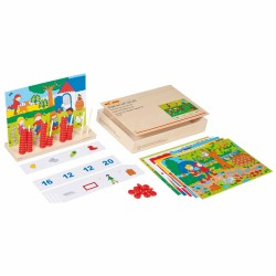 Educational math game Educo - Find and count up to 20