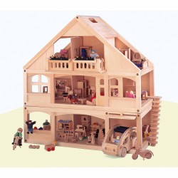 Wooden Dolls House Educo
