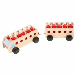 Educational Math Game Educo - Math bus with trailer - mini