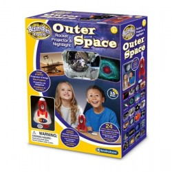 Outer Space Rocket Projector & Nightlight, brainstorm