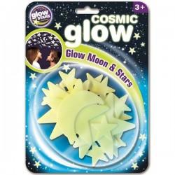 Cosmic Glow Moon & Stars,...