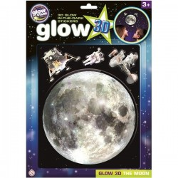 Glow 3D Moon, brainstorm