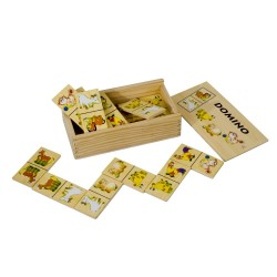 PINO Dominoes (28 pieces) Farm