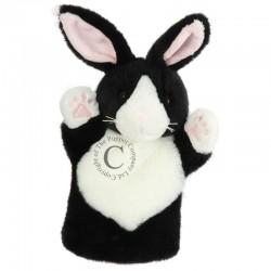 Куклa за куклен театър - ръкавицa, CarPets: Заек в черно...