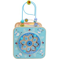 Wooden Activity Cube - Seasons, Lucy&Leo