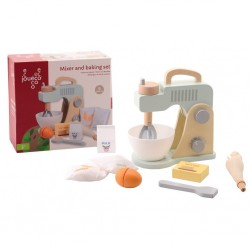 Mixer and baking set in box, 10 pieces, Joueco