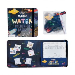 Magic Colour Changing Water Cards - Deep Sea - Floss&Rock