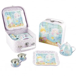 Tin Tea Set 7 Piece - Mermaid - Floss&Rock
