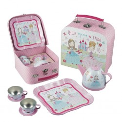 Tin Tea Set 7 Piece - Princess - Floss&Rock