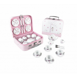 Porcelain Tea Set 17 Piece - Fairy Blossom - Floss&Rock