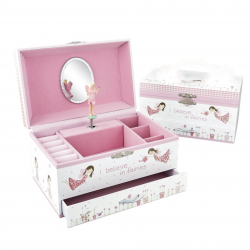 Musical Jewellery Box - Fairy Blossom - Floss&Rock