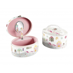 Musical Jewellery Box - Fairy Unicorn (Oval) - Floss&Rock