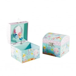 Musical Jewellery Box - Mermaid (Small) - Floss&Rock