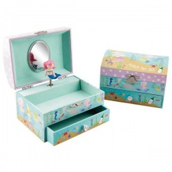 Musical Jewellery Box - Mermaid (Large) - Floss&Rock