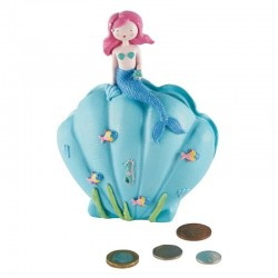 3D Resin Money Bank - Mermaid - Floss&Rock