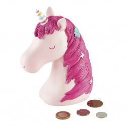 3D Resin Money Bank - Unicorn - Floss&Rock