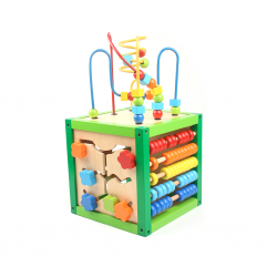 PINO Wooden Activity Cube