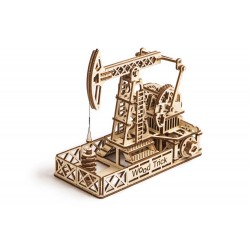 Wooden 3D puzzle Wood Trick - Oil Derrick