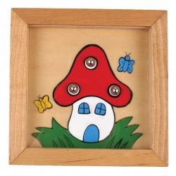 Дървена игра за сръчност Pino - Къща